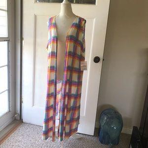 Joy long vest large